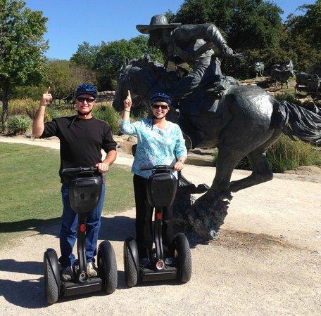 Segway Nation Dallas: Robert & Glenda