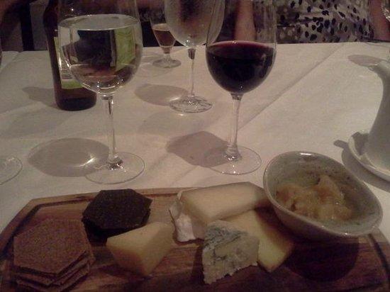 Zuni: Dessert Cheese Plate