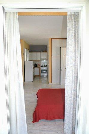 Areti-Maria Apartments : Τα δωμάτια