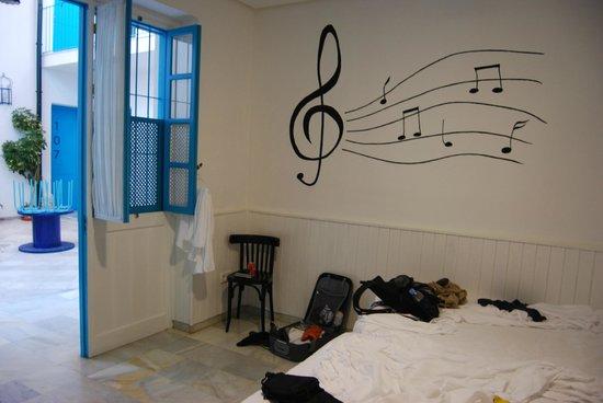Casual Sevilla de las Letras : Twin room