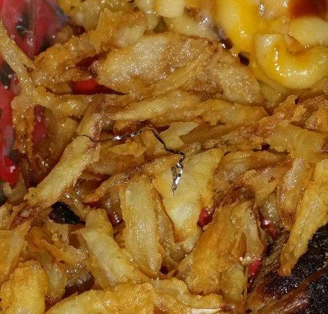 Fuego Lento BBQ: Metal shaving in food? Really?