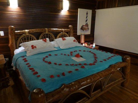 Punta Faro : Notre chambre le dernier soir...