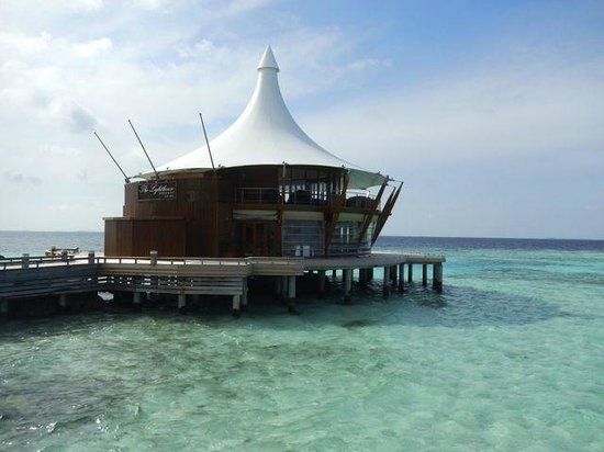 Baros Maldives: The Lighthouse.