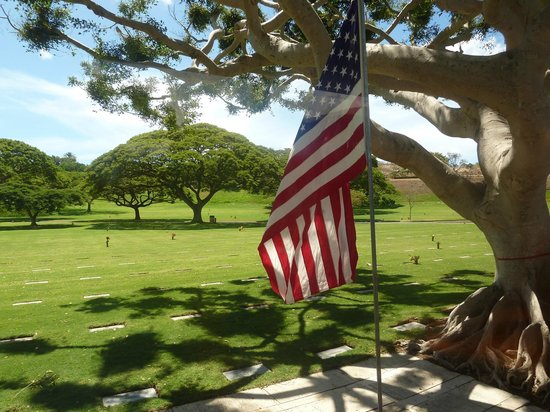 National Memorial Cemetery of the Pacific: Well kept