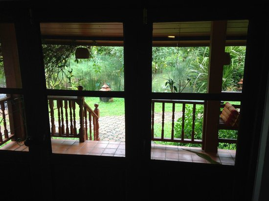 Secret Garden Chiang Mai: View from front room