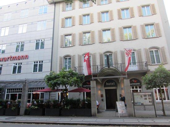 BEST WESTERN Hotel Wartmann am Bahnhof: 外観