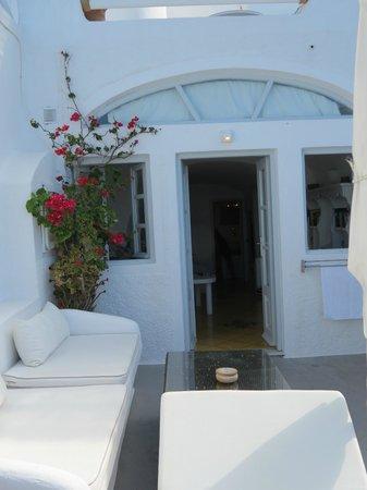 Hotel Sunny Villas: balcon