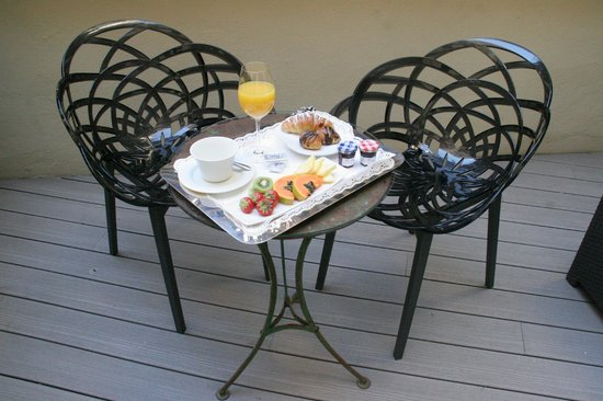 ANBA Bed&Breakfast Deluxe: Chill out garden