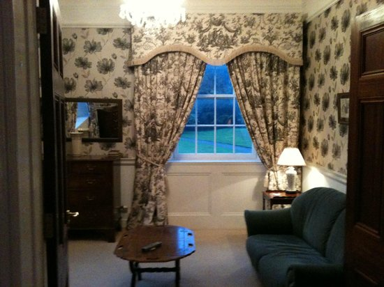 Dunbrody Country House Hotel: Suite sitting room