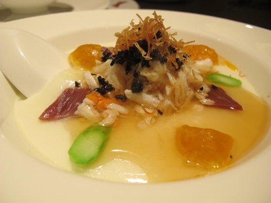 Sun Tung Lok: egg tofu