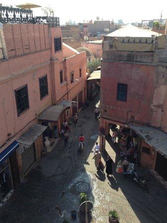 Hotel Amira & Vacances : Terrace