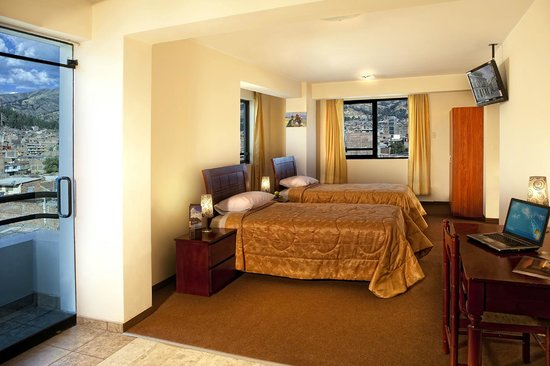 Arawi Pastoruri Hotel: Triple Room - 2 single Beds and 1 Matrimonial Bed