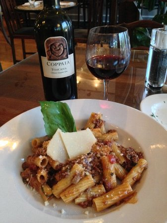 Glass Onion: Pasta Bolognese with Wild Boar - better than I had in Italy