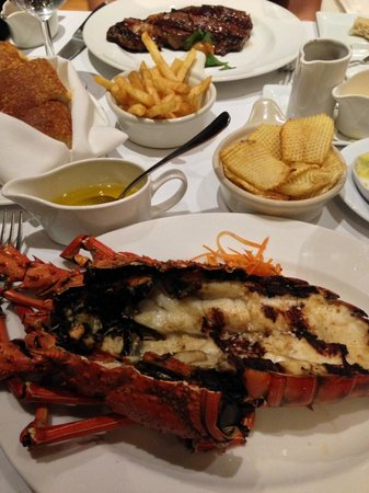 Factory Steak & Lobster : Delicious!