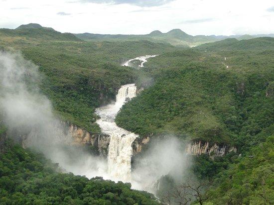 Alto Paraiso de Goias, GO : Vista do Mirante da Janela para o Parque