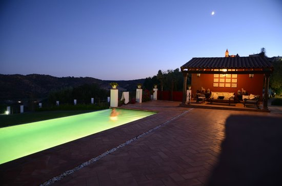 CASA VESTA: Pool at night
