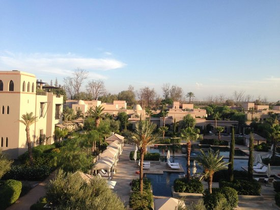 Four Seasons Resort Marrakech: View from room.