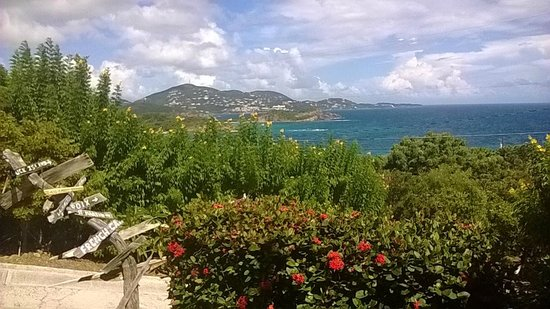 Virgin Islands Campground : The view from the campground