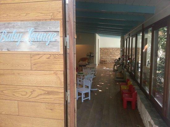 Doryssa Seaside Resort: The baby lounge