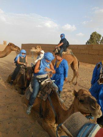 Hotel Kasbah Mohayut: partenza per il bivacco