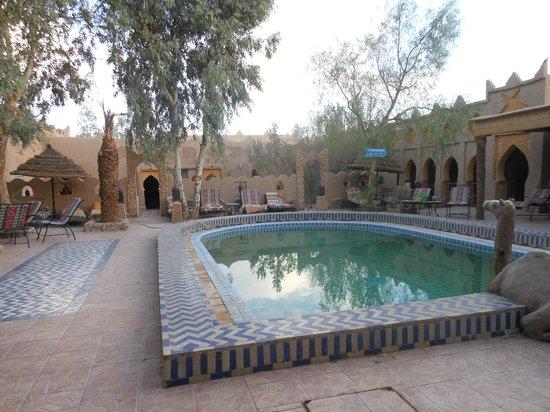 Hotel Kasbah Mohayut: la piscina