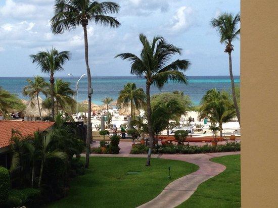 La Cabana Beach Resort & Casino: View from my balcony.