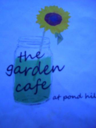 The Garden Cafe at Pond Hill Farm: menu cover