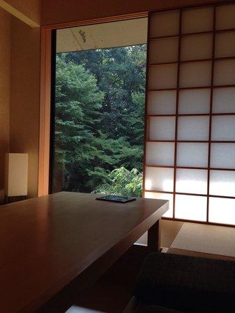 Hyatt Regency Kyoto: Courtyard view