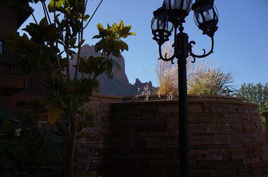 Kimpton Amara Resort & Spa : great landscaping in the courtyard.