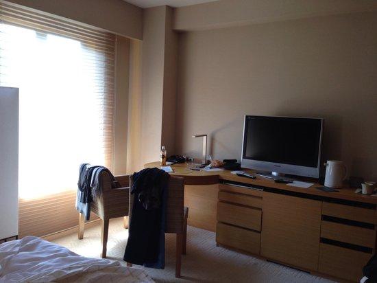 Hyatt Regency Kyoto: Deluxe bedroom
