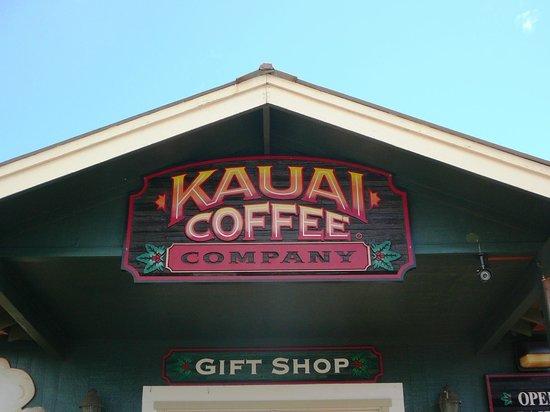 Kauai Coffee Company: entrance