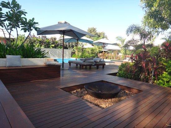 The Billi Resort: The pool