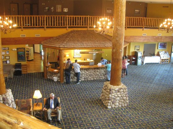 View Of Lobby Picture Of Grizzly Jack S Grand Bear