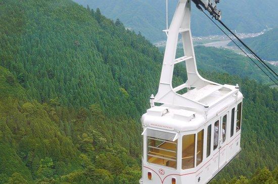 Mt. Minobu Ropeway : ロープウエイ