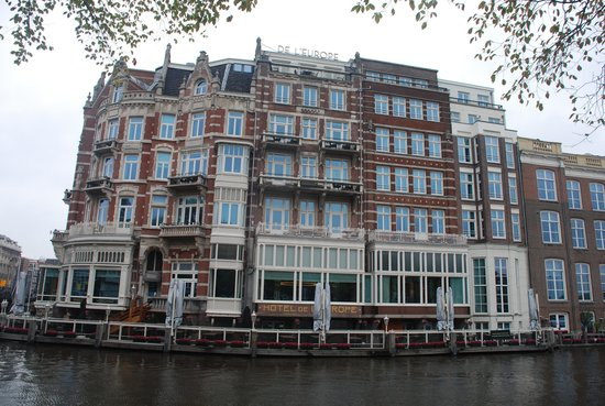 De L'Europe Amsterdam: Hotel De L'Europe at Amstel River by Herman Darnel Ibrahim