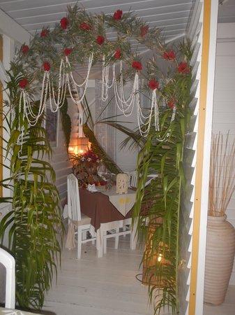 Opoa Beach Hotel : coin pour les amoureux