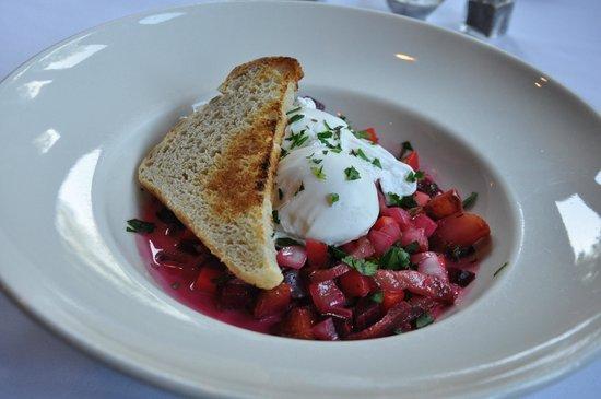 Farmhouse Inn : Breakfast beet hash