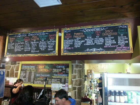 North Conway - The Local Grocer menu 2