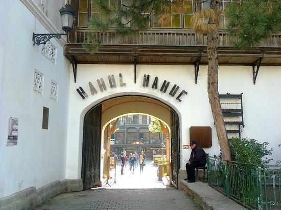 Restaurant Hanu' lui Manuc: entrada