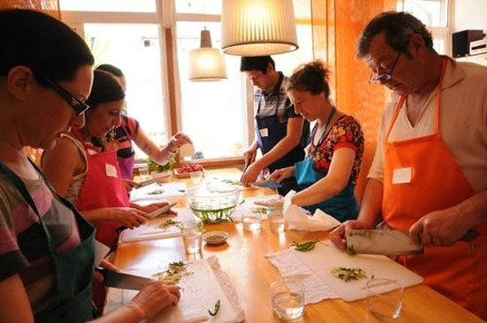 Boca a Boca foodie experience : Enjoying thai class at Boca a Boca cooking classes