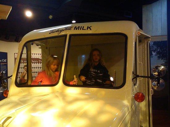Turkey Hill Experience: drive a milk van