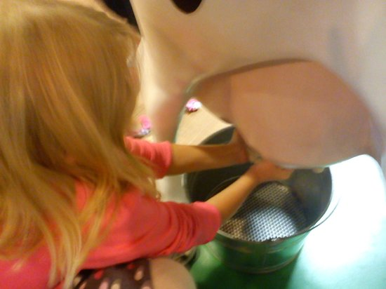 Turkey Hill Experience: milking cow