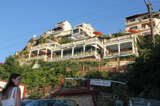 Platanias Palace: Resturanten