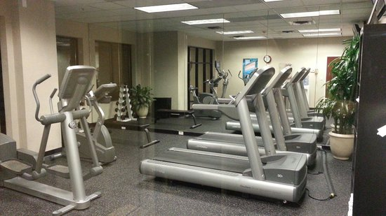 Courtyard Bloomington by Mall of America: Nice workout area