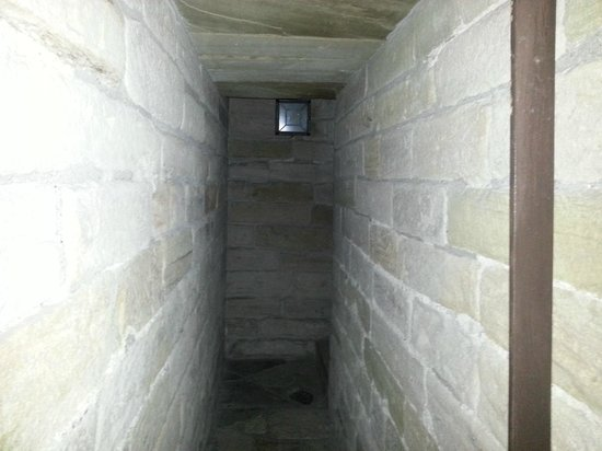 Newcastle's Haunted City Tours: inside of the keep