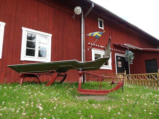 Lilla Sverigebyn: Wash area