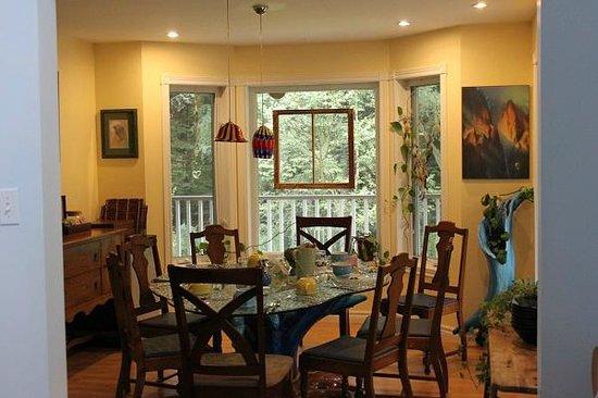 Spa Crystal-Inn B&B Mont Tremblant: Dining room
