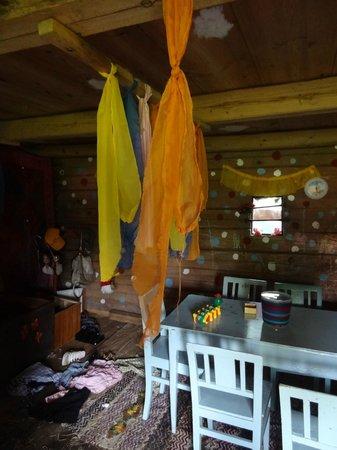 Lilla Sverigebyn: Inside the playhouse