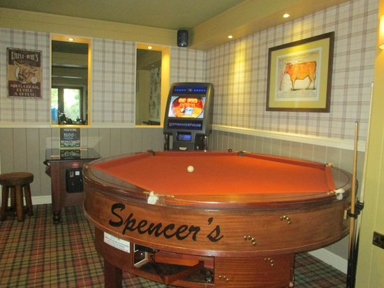 Spencers Bar and Grill: Games Corner