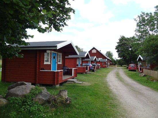 Lilla Sverigebyn: Cabins